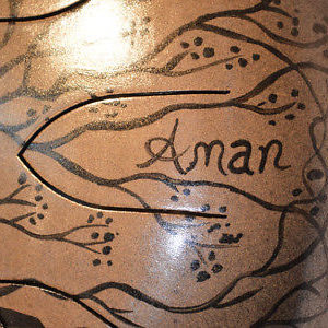 aman handpan am drum artesanal