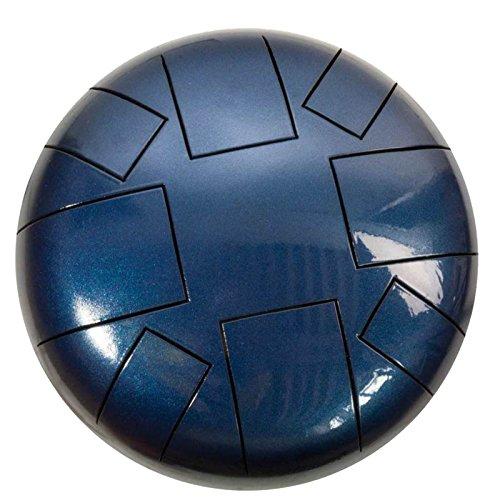 Tankdrum G-Dur, 30 cm, inkl. bolso + palillo azul oscuro