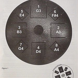 Hapi Bell Steel Tongue Drum manual