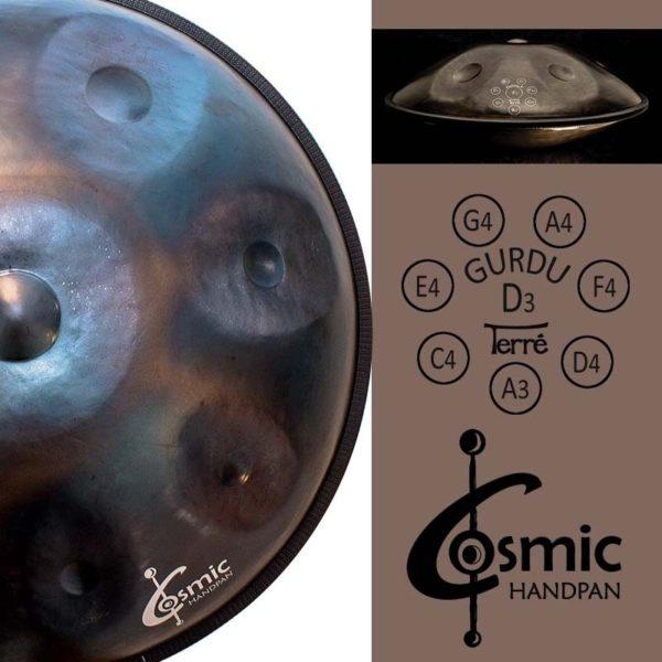 comprar Terre Cosmic Handpan calidad D Gurdu 2.098,00€