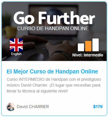 curso online de handpan nivel intermedio