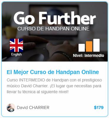 curso online de handpan nivel intermedio