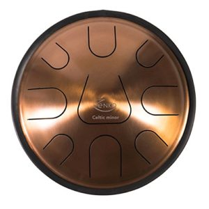 Zenko Celtic Minor Handpan Tongue Drum Dorado
