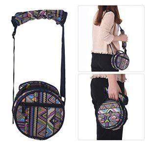 bolsa protectora de transporte de tela para mini steelpan